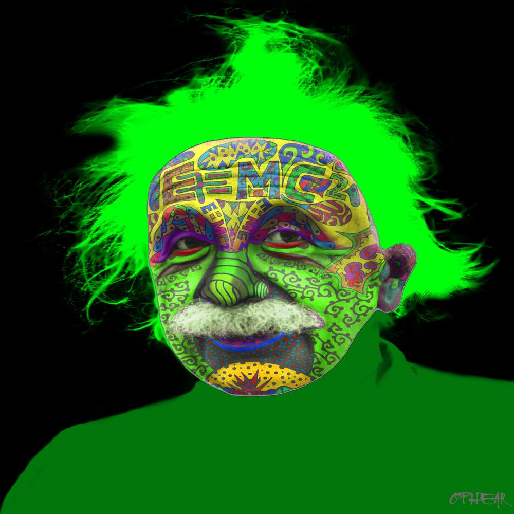 OPHEAR face mask Albert Einstien