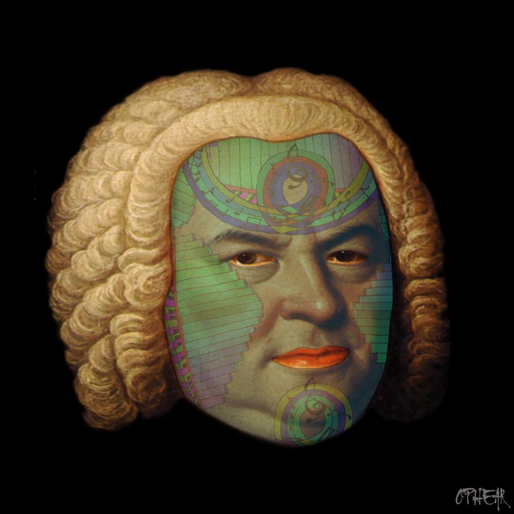 OPHEAR face mask Sebastian Bach