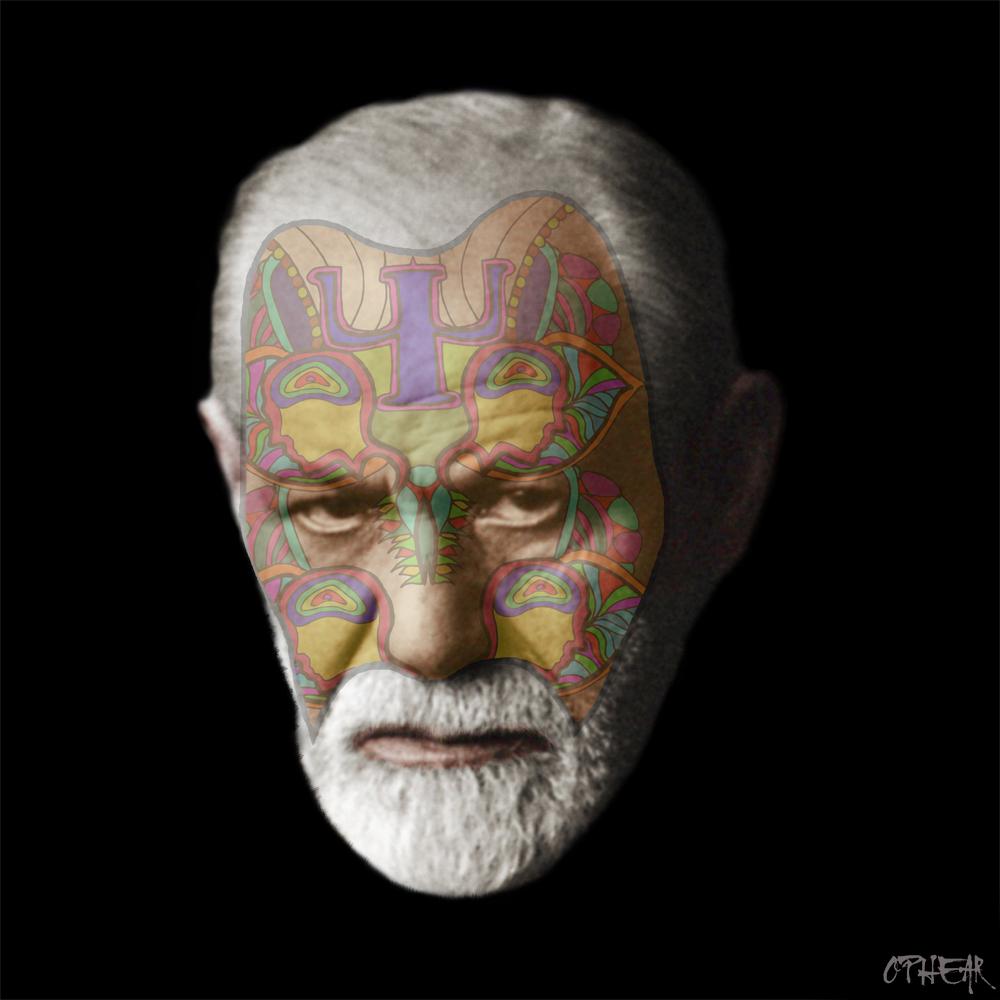 OPHEAR face mask Sigmund Freud