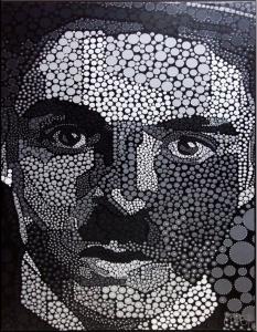 Charlie-Chaplin-BW-acrylic-pigment-on-canvas-100x130cm1-min