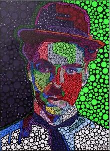 Charlie-Chaplin-acrylic-pigment-on-canvas-100x130cm1-min