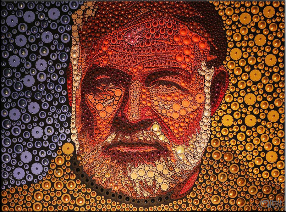 Ernest-Hemingway-acrylic-pigment-on-canvas-100x127cm1-min