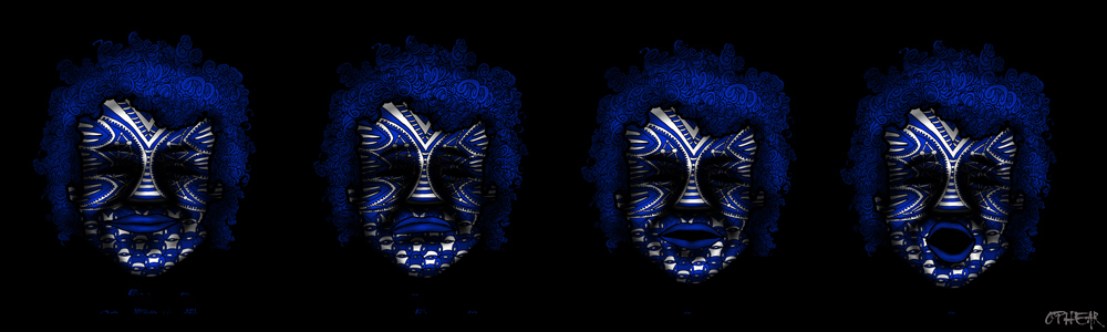 OPHEAR 15 masks 100cmx30cm LR
