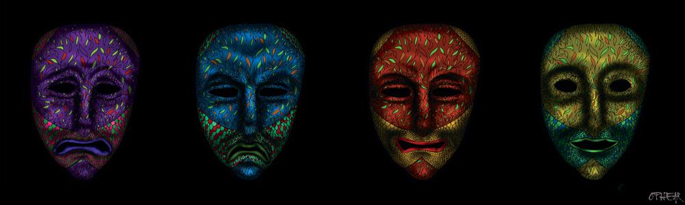 OPHEAR 2 masks 100cmx30cm LR – The Sourpusses