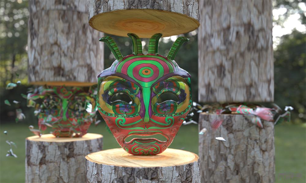 OPHEAR 4 masks 100cmx60cm scene 1 LR – Soul Crushing
