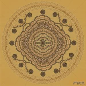 OPHEAR 43 Mandala 100x100cm LR