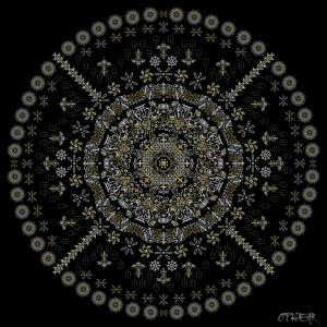 OPHEAR 48R Mandala 100x100cm LR