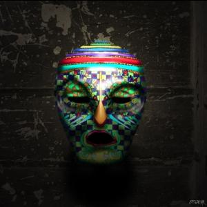 OPHEAR 5 masks 100cmx100cm scene 1 LR – Nightmare