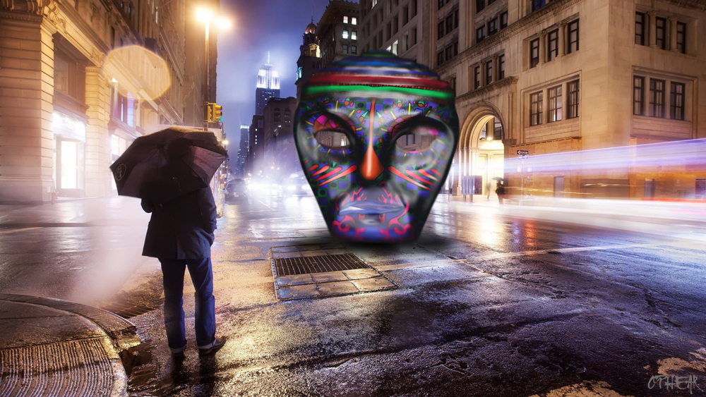 OPHEAR 5 masks 100x55cm scene 3 LR – Introspection