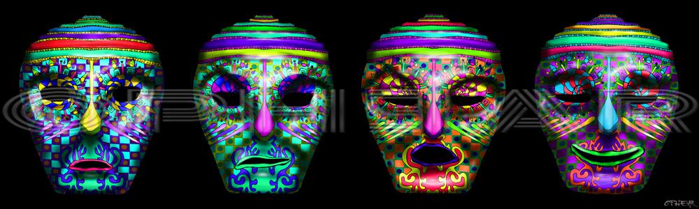 OPHEAR 5 masks 100cmx30cm LR – The Tin Heads WM