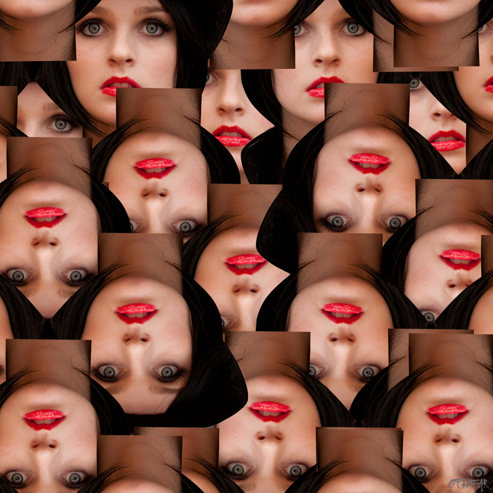 OPHEAR 59 photo 100x100cm LR – Charged Lips
