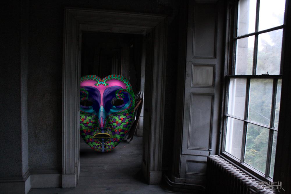 OPHEAR 6 3D masks 100x63cm scene 10 Surprise LR