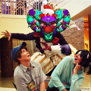 OPHEAR Ram 3D masks 100x100cm scene 6 LR