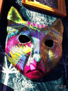 OPHEAR cat 3D masks 100cmx75cm scene 1 LR