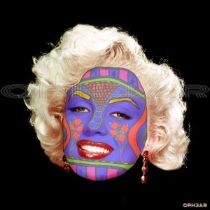 OPHEAR face mask Marilyn Monroe